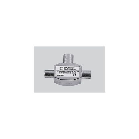 Profile PMU644 IEC Coax splitter Plugin 2 way TV splitter