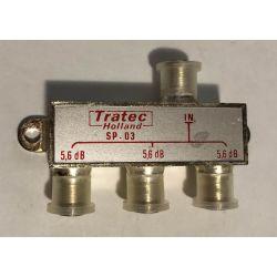 Répartiteur d'antenne à 3 voies Tratec SP-03