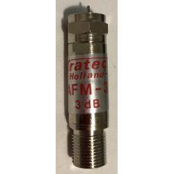 Tratec AFM-6 F signal attenuator 6 dB