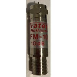 Atténuateur de signal Tratec AFM-10 F 10 dB