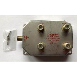 Tratec MT-4 4 way Multi Tap 40 - 860MHz