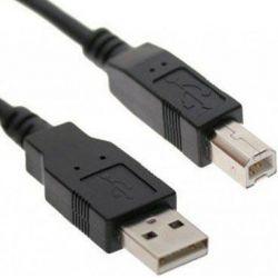 2 mtr. Câble USB 2.0 A - B noir