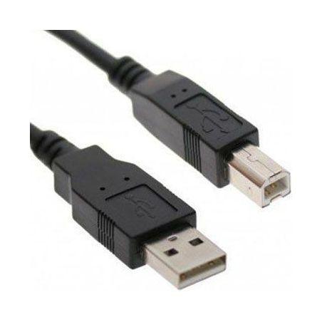 2 mtr. USB 2.0 cable A - B black