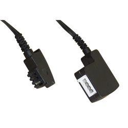 Câble d'extension TAE-F, fiche / prise TAE-F 6 mètres noir
