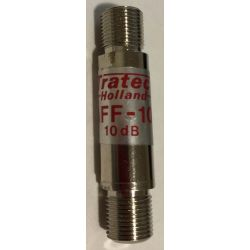 Atténuateur de signal Tratec AFF-10 F 10 dB