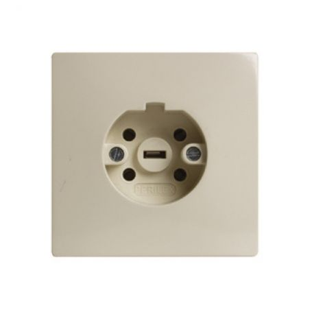 Perilex socket installation cream 16A