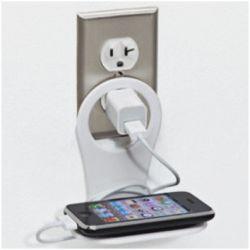 DRIINN support de téléphone portable - Blanc