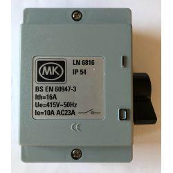 MK Electric - LN 6816 Isolator switch 3-pole 16A - 415V - 50Hz