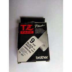 Brother 9 mm zwart op witte...