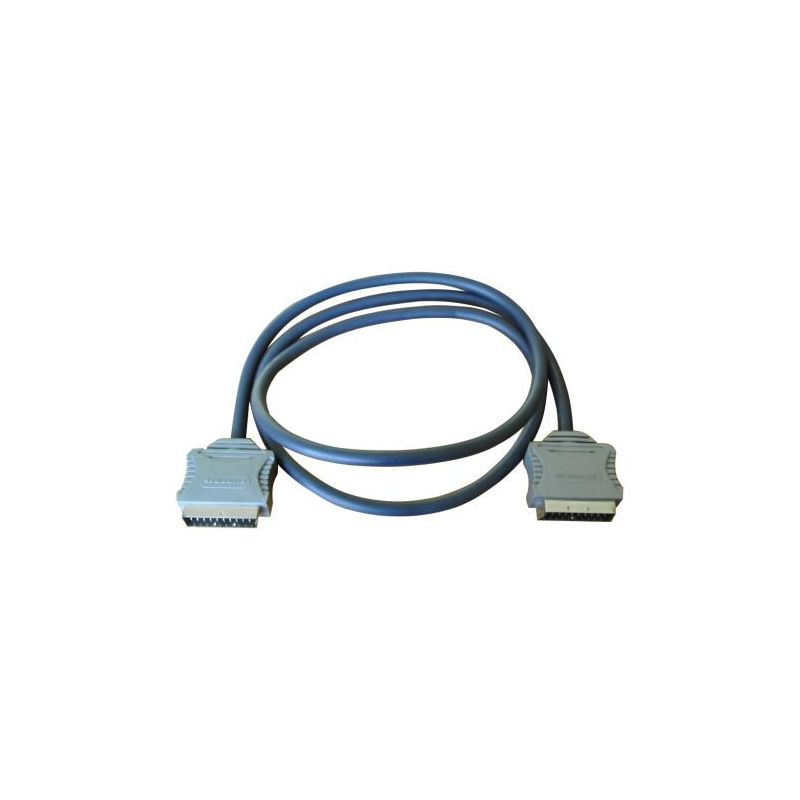 Bandridge SCART cable 1.5 m SCART (21-pin) Gray