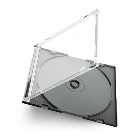 CD boxes slimline for 1 cd - black