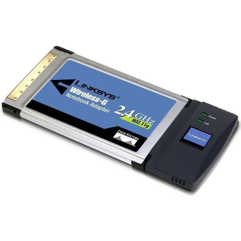 Linksys WPC54G WiFi Adapter (Wireless 2.4GHz / 802.11g)