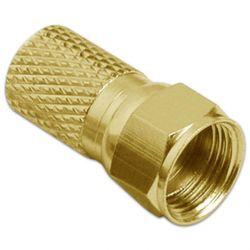 F-connector plug - Twist-on - Professional - 7 mm