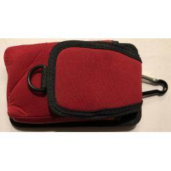 GSM, GPS Carrying Case Draagtas met Riemclip Origineel - Zwart/rood